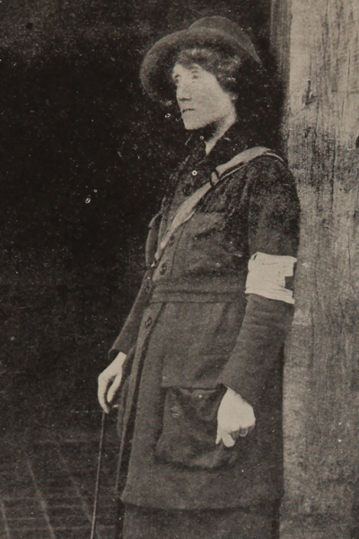 Mrs St. Clair Stobart included in Women of the War, 1918 ©‎ U.S. National Library of Medicine