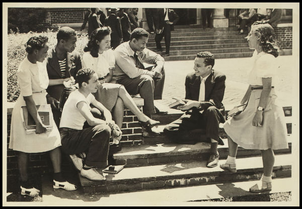 Students at Atlanta University