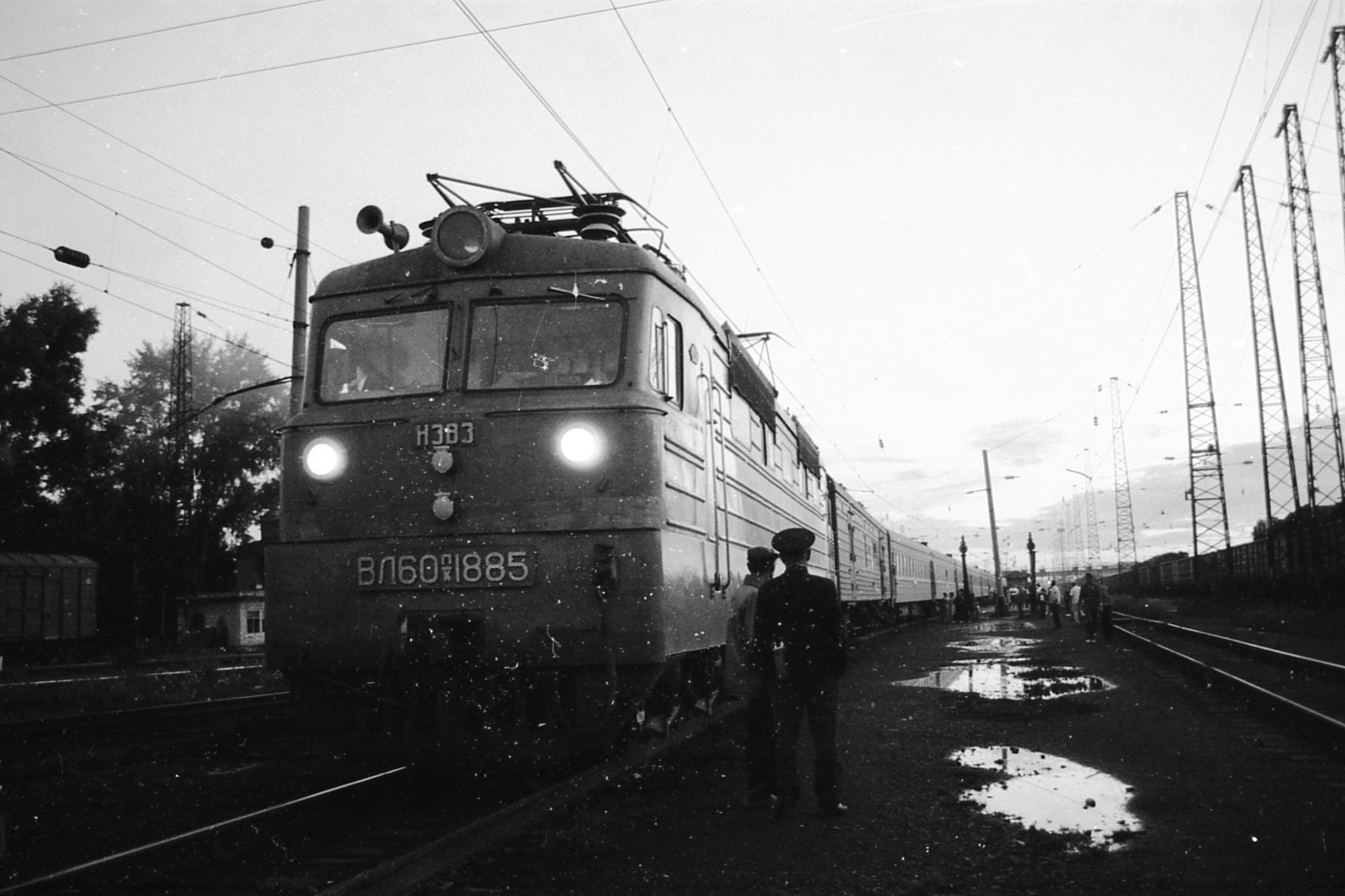 The Trans-Siberian Railway. Image in the public domain.
