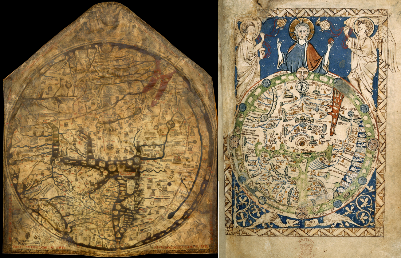 the world through their eyes medieval world maps