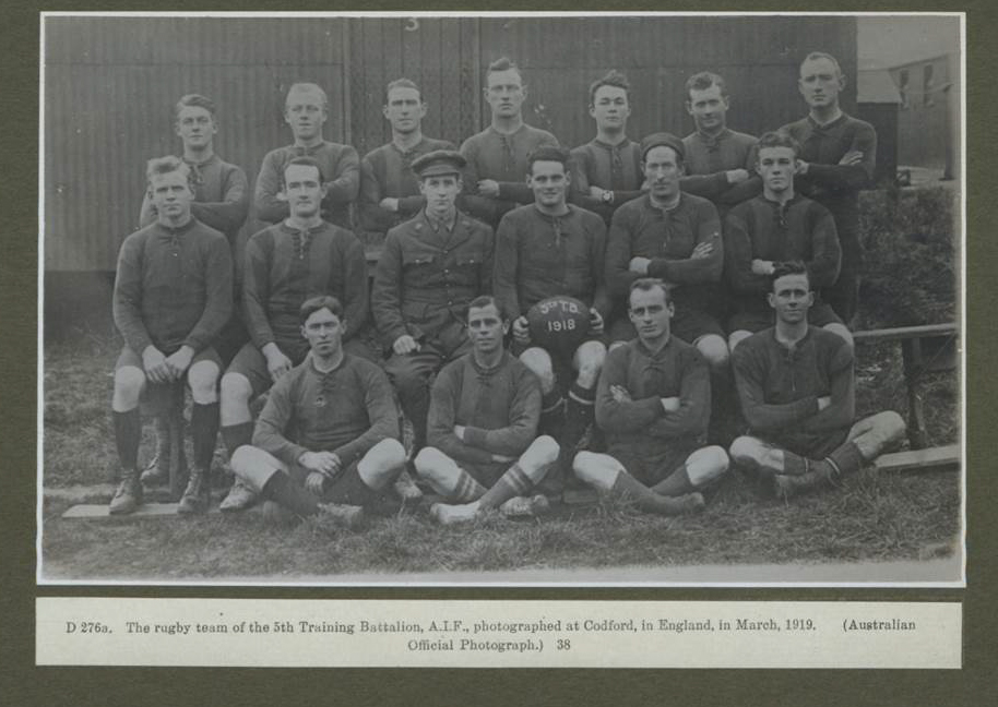 Warrior Sportsmen: Rugby Football & the Great War