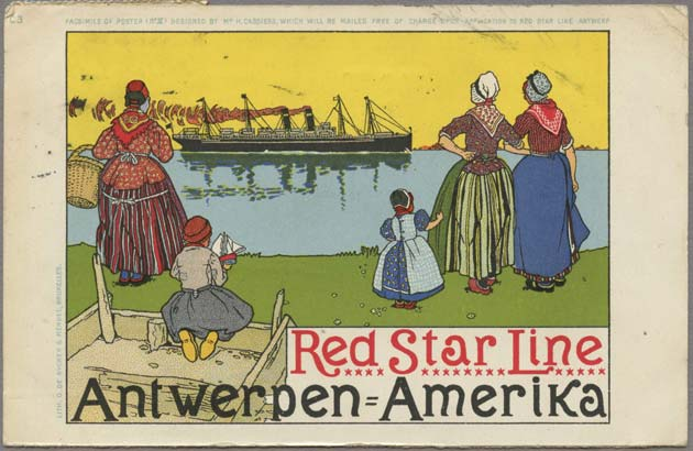 The Red Star Line in Antwerp, 1873-1934