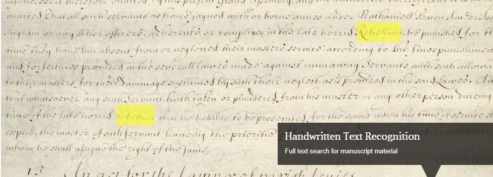 HTR: Introducing AI as an Aid to Manuscript Research in Adam Matthew Collections
