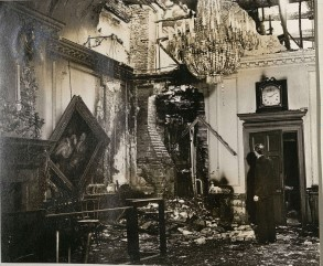 Stationers' Hall During the Blitz