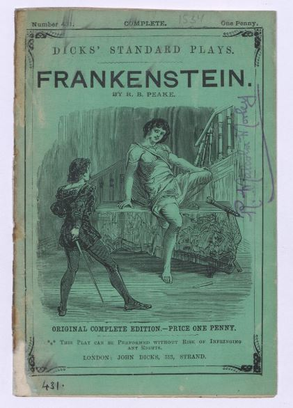 Playing God: Richard Brinsley Peake and the Fate of Frankenstein on stage