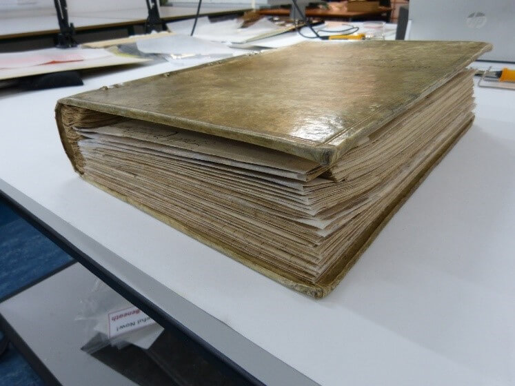 Putting Together the Pieces:  Preparing a Highly Fragmented Book for Digitisation