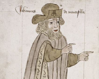 'Of whiche londes & jles I schall speke more pleynly here after': The travels of Sir John Mandeville
