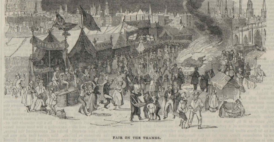 The London Frost Fairs