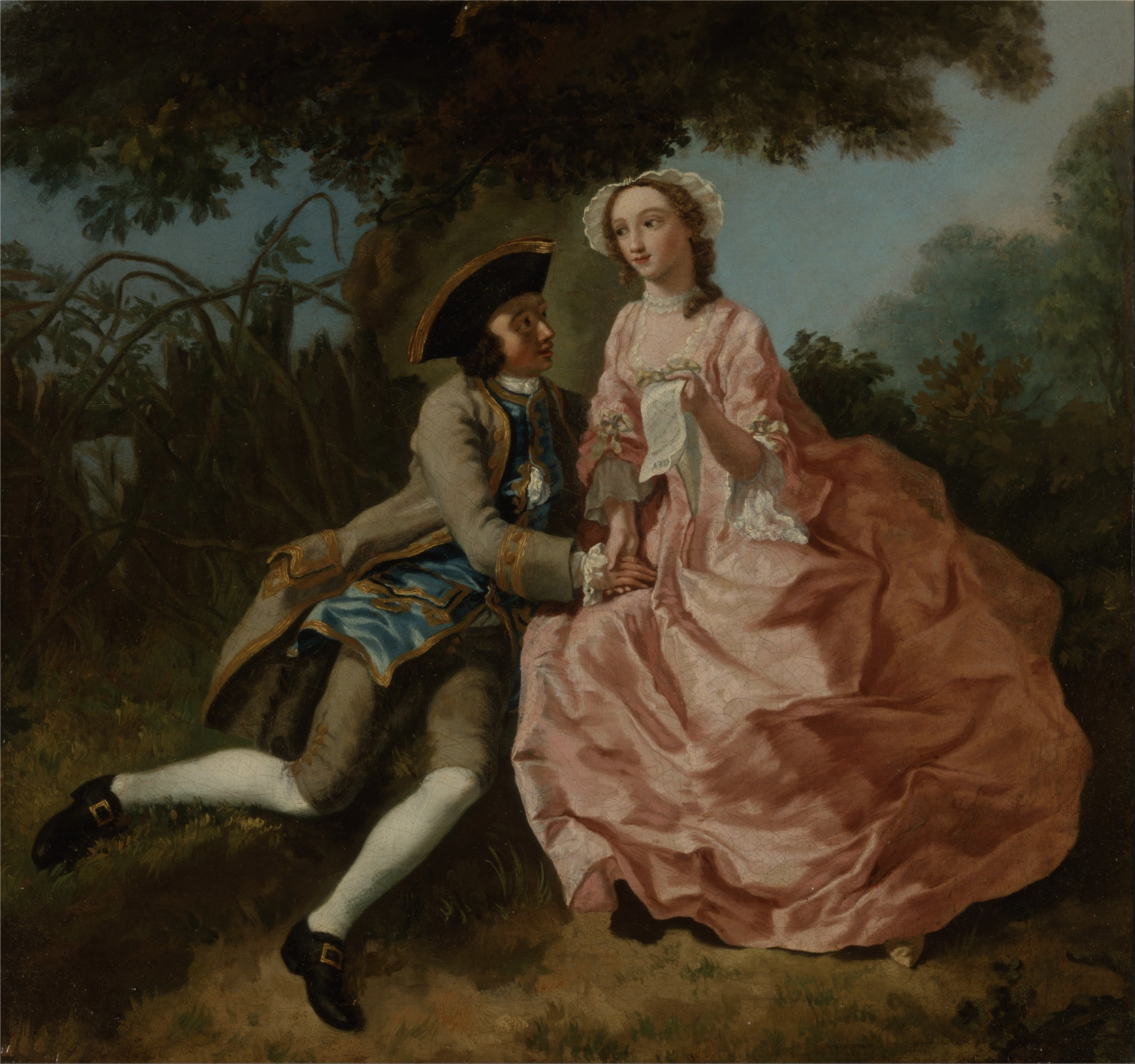 'Cracking on' in the Eighteenth Century: Conduct Books and Courtship
