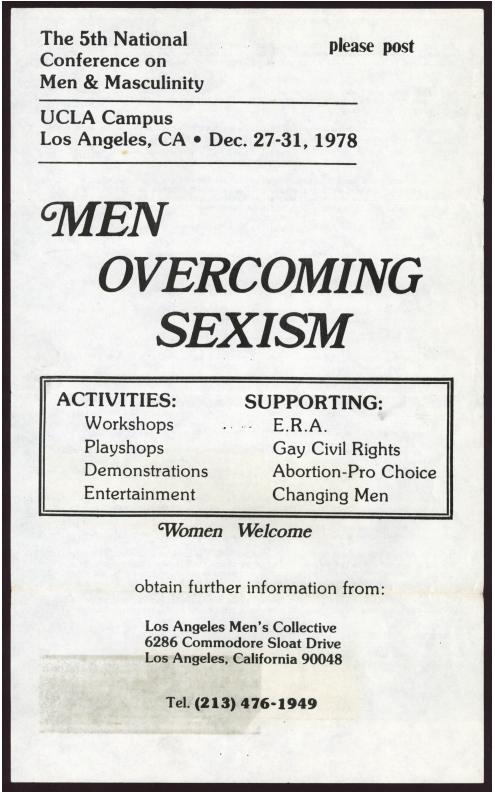 The Men's Movement