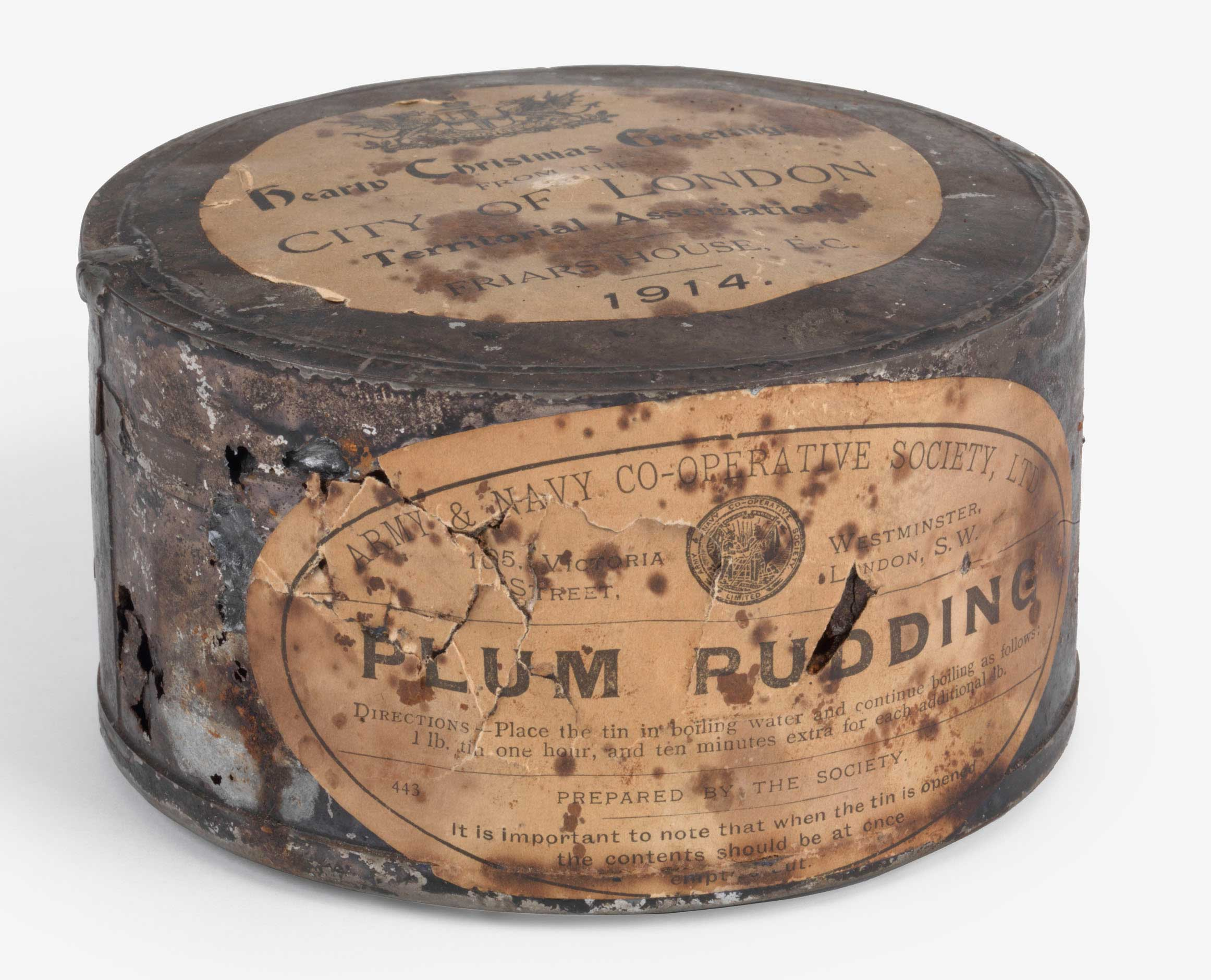 Plum Pudding In A Shell Hole: Christmas Baking In World War I